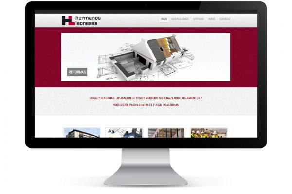 Diseño de Página Web para empresa de Construcción
